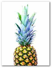 Pineapple Print, Tropical Pineapple Print, Pineapple Art, 8x10 inches, Unframed