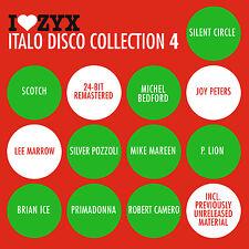 CD ZYX Italo Disco Collection 4 d'Artistes divers 3CDs