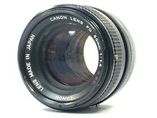 [Excellent+4] Canon FD 50mm f/1.4 S.S.C. SSC MF Lens FD Mount from JAPAN