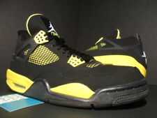 NIKE AIR JORDAN IV 4 RETRO OG THUNDER LIGHTNING BLACK YELLOW 308497-008 10.5