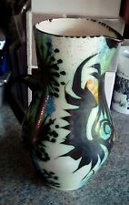 CELTIC STUDIO POTTERY LARGE JUG BY BILL AND MAGGIE FISHER NEWLIN CORNWALL