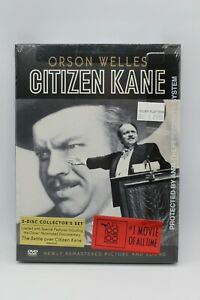 ORSON WELLES CITIZEN KANE COLLECTORS SET DVD BRAND NEW SEALED FREE POSTAGE