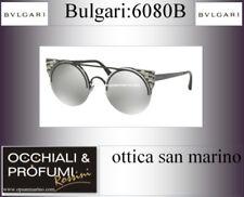 Occhiali da sole da donna Bvlgari a tecnologia lenti specchio e mantatura in metallo