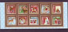 Nederland NVPH 2778-87 Vel Half vel Decemberzegels 2010 Postfris