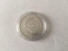 France - pièce de 50 F en argent Hercule 1974 - TTB