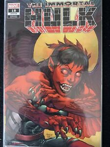 THE IMMORTAL HULK #18 Tom Raney VARIANT First Full Appearance of Red Harpy