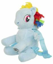 My Little Pony 3D Plush Backpack, Official Licensed, Pink, Yellow, Blue, Purple