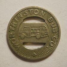 Worthington Bus Company (Minnesota) transit token - MN985A