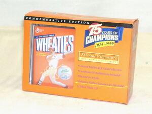 Wheaties Commemorative Box Mark McGwire NIP