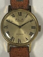 Vintage mechanical Swiss Ladies watch AVIA - 17 Jewels Incabloc - Swiss Made