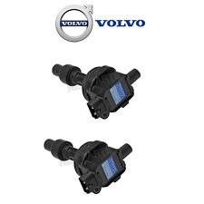 Volvo S40 V40 Set of 2 Ignition Coil With Spark Plug Connectors Genuine 1275602