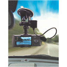 Pantalla dividida pantalla dual en coche cámara de CCTV Video Grabación con sensores GPS & G