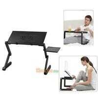 Adjustable Portable Folding Desk Table Stand Bed Sofa Tray For Notebook Laptop