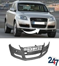 NEW AUDI Q7 4L 2006 - 2009 FRONT BUMPER WITH HEADLIGHT WASHER AND PDC HOLES