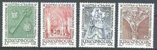 Luxembourg 1966 Sc# 436-39 set Notre-Dame MNH
