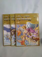 Manga Greek and Roman Mythology, Vol 1 - 3 Graphic Novels S.A.M.