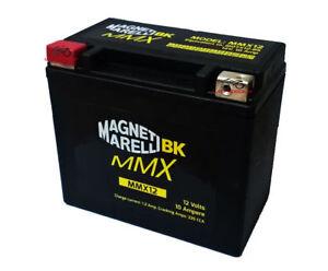 MMX12 BATTERIA CHIUSA MAGNETI MARELLI YTX12-BS SUZUKI VZ Marauder 800 2003