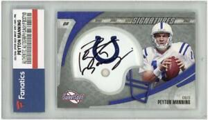 PEYTON MANNING Autographed 2006 Colts Sweet Spot Card FANATICS