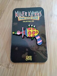 Cavity Colors Killer Klowns From Outer Space Ray Gun Enamel Pin