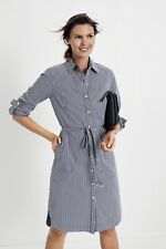SPORTSCRAFT  Muriel Stripe Long Sleeve Short Dress  Size 16  EXCELLENT CONDITION