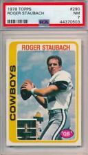 1978 Topps Roger Staubach #290 PSA 7