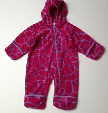 Colombia Fleece Coverall Size 6 months Girls