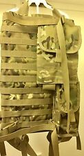 RARE Custom Made ALICE Frame MOLLE Flat Bed Pack with MORTAR pouches MULTICAM