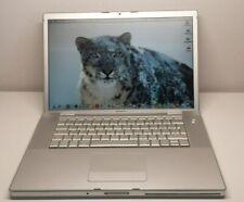 "MACBOOK PRO 2006-15.4"" Modello A1211/Core 2Duo 4gb ram SSD 128GB Radeon 128 mb"
