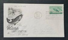 Us Fdc 1079 Wildlife Conservation 1956.