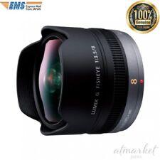 Panasonic H-F008 single focus fisheye lens Lumix G FISHEYE 8mm F3.5 from JAPAN