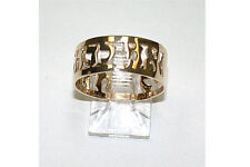 ANI Le DODI 14K Solid Gold Jewish Wedding Band Ring Authentic My Beloved's Ring