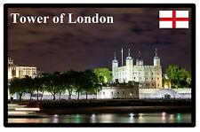 Tour de Londres ( Nuit ), - Souvenir Aimant Réfrigérateur - Tout Nouveau