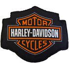 "Harley Davidson Fireball Decorative Pillow 14"" x 12""  Fabric Cover"