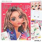 TOPModel Make Up Colouring Book & Stickers & Designs /or Skin & Hair Pencil Set
