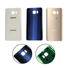 Glass Rear Panel Replacement Battery Back Door Cover For Samsung Galaxy Note 5