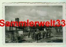 Foto Zerstörung Stadt SOCHACZEW / POLEN 1939 !!! TOP !!! D589