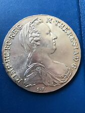 Old Maria Theresa Thaler BURG CO TYR 1780 X Archid Avst Dux (OLD S.F) Very Fine
