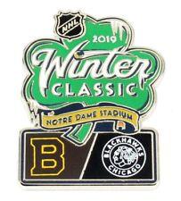 Official NHL 2019 Winter Classic Pin Boston Bruins vs Chicago Blackhawks