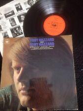 Tony Hazzard - Tony Hazzard Sings Tony Hazzard Vinyl LP UK CBS 63608 (1969) Rare