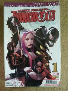 Thunderbolts.Coleccion Completa de 24 Comics.Marvel.Panini