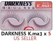 10 Pairs Darkness False Eyelashes Kma3 k.ma k-ma