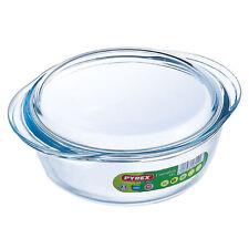 Pyrex Essentials Round Casserole Dish 1L