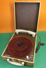 New listing Vintage 1950's Webcor Midge Portable Tube Record Player Phonograph Clean & Nice!