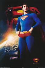 3 POSTERS: MOVIE REPRO : SUPERMAN RETURNS - POSED - FREE SHIP #8677    RAP16 B