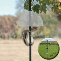 Universal Bird Feeder Station,Squirrel Baffle Dome Stop Stealing Bird Feed Guard
