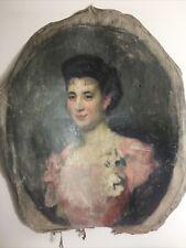 André Felix Roberty Belle Epoque Portrait Of Woman