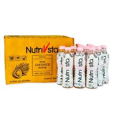 NutriVsta Pink Coconut Water (340ml) 24/Pack