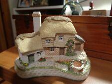 David Winter Cottages 1992 Birthstone Wishing Well Gc