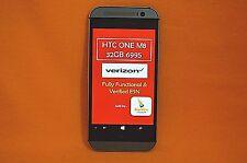 *UNLOCKED* VERIZON, HTC ONE (M8) WINDOWS HTC6995LVW 4G LTE 32GB GRAY SMARTPHONE