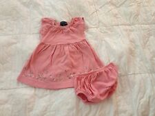 Ralph Lauren Baby Girl Pink Flower Dress 6 months old S17